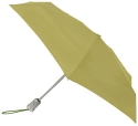 Totes Ladies Signature Basic Automatic Compact Umbrella,Green,One Size