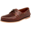 Timberland Men's Classic Boat Shoe,Rootbeer/Brown,9.5 M