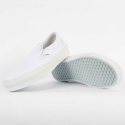 Vans Adult Classic Slip On Sneakers - true white, men's 3.5, women's 5
