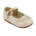 Amanda's Shiny Party Shoes (Infants 4, Ivory)