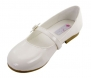 Darling Party Shoe with Daisy for Girls Infant/Children's Shoe Size: Children's 12 Shoe Color: Ivory