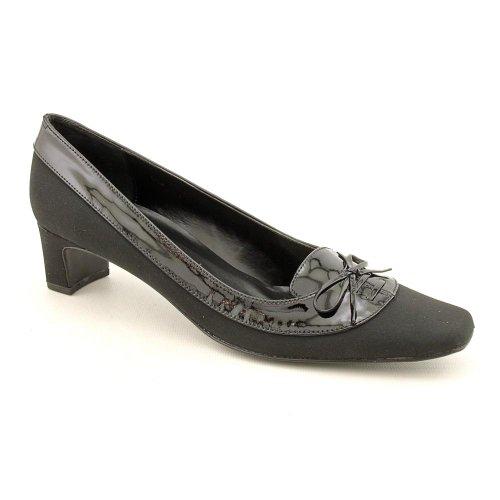 Vaneli Black Flat Shoes