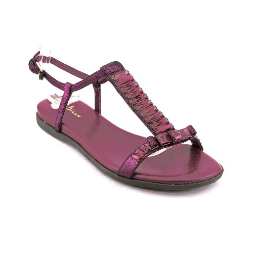 Cole Haan Sarina FlatSandal Womens Leather Dress Sandals Shoes Cole Haan Cole Haan