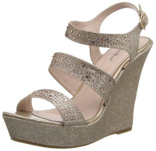 Coloriffics Wedge Wedding Shoes