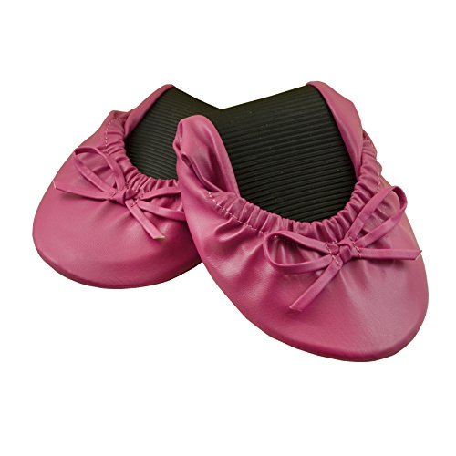 Purse Pal : Solemates Purse Pal Foldable Bowed Ballet Flats w/ Expandable Tote Bag ...
